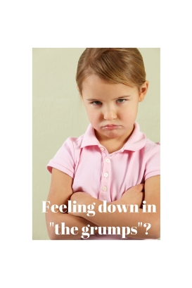 Having an attack of _the grumps__